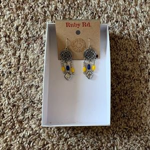 Ruby Rd. Jewelry - Ruby Rd-Necklace & Earring Set